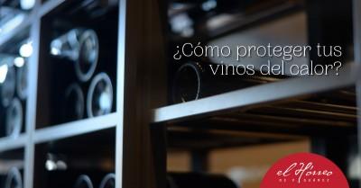 ¿Cómo proteger tus vinos del calor?