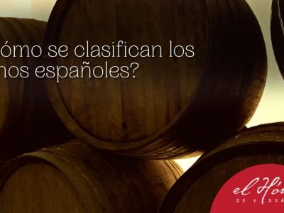 Cómo se clasifican los vinos españoles según su nivel de añejamiento