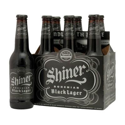 SHINER BLACK LAGER