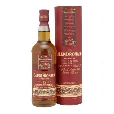GLENDRONACH SINGLE MALT 12 YRS